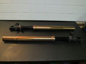 SUZUKI GSXR 1000 K5 K6 FRONT FORKS WITH WP CARTRIDGES NOT OHLINS 2005 2006.