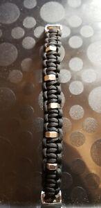 Paracord bracelet metal buckles