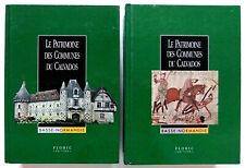 NORMANDIE / CALVADOS le PATRIMOINE des COMMUNES / Editions Flohic 2 volumes 2001