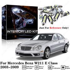 White LED Interior SMD Light Kit No Error For Mercedes Benz W211 E Class 03-09
