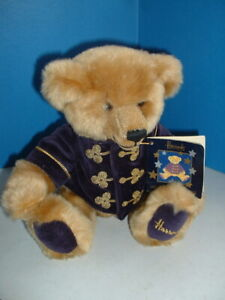 HARRODS OLD FASHIONED BEAR in DOORMAN OUTFIT 1990s Lovely 10 inch bear