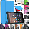 "Smart Magnetic Leather Shell Stand Case For Amazon Kindle Fire HD 8"" Tablet 2018"