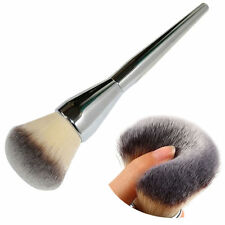 Kabuki Face Makeup Blush Powder Silver Handle Cosmetic Large Brush Foundation