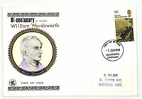 EE279 1970 GB FDC/'William Wordsworth {samwells-covers}