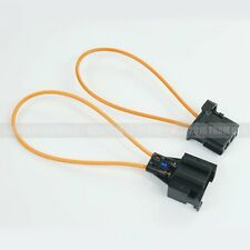 MOST Fiber Optical Fiber Optic Loop Bypass Male To Female Connector For Audi BMW