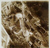 Rocamadour Francia Foto Stereo PL59L11n Placca Da Lente Vintage c1900