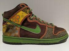 2005 Nike Dunk High Pro SB De La Soul Brown Altitude Green Size 12 305050 231