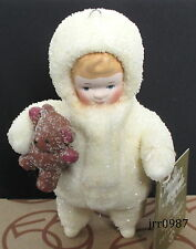 Dept 56 Snow Angels - ANGEL w/ TEDDY BEAR Ornament #49746 New In Box