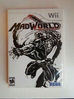 MadWorld Game Complete! NIntendo Wii Mad World