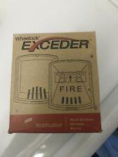 New listing Wheelock Hsw Exceder Series Horn Strobe Notification Appliance