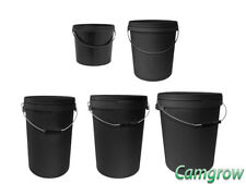 Plastic Bucket With Lid And Handle 5L, 10L, 20L, 25L, 33L Also Great For Storage