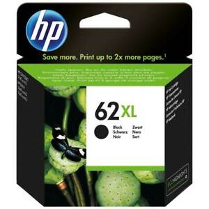 Genuine Black or Colour HP 62XL Ink Cartridge C2P05A C2P07A *CHOOSE YOUR COLOUR*