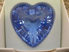 1997 Swarovski Collectors Society - Renewal Blue Heart - NEW