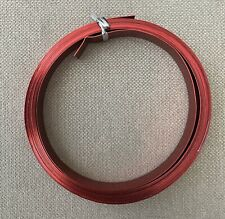 Oasis Flat Wire Red 1/2 Inch x 15 Ft