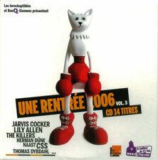 Compilation CD Les Inrockuptibles - Une Rentrée 2006 - Vol. 3 - France (EX/M)