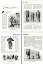 1904 Modern Art In Glassware, Examples Of American Products