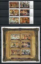 Aitutaki 2012 Weihnachten Christmas Gemälde Paintings Religion Kunst Art MNH