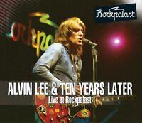 ALVIN & TEN YEARS LATER LEE - LIVE AT ROCKPALAST 1978  2 VINYL LP NEU