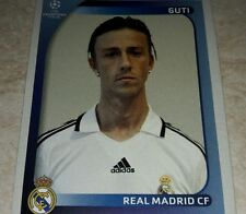 FIGURINA CALCIATORI PANINI CHAMPIONS 2008/09 REAL MADRID GUTI ALBUM