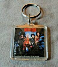 Key Chain/Vintage  Motley Crue  1983  New Nr Mint