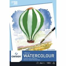 Canson Montval 185gsm Watercolour Pad A4 - Medium / Cold Pressed
