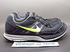 Men's Nike Pegasus+ 29 Black Volt Dark Grey Running Shoes 524950-070 sz 8