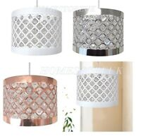 MODA LIGHT FITTING SPARKLY SHADE EASY FIT CEILING PENDANT FIT MODERN CHANDELIER