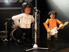Oasis 3 inch minifigure set - 2 x handmade OOAK jointed figures
