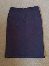 JOSEPH indigo blue denim stretchy pencil skirt - UK 10 - New without tags - £245