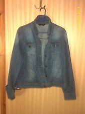 Denim Hip Casual Plus Size Coats & Jackets for Women