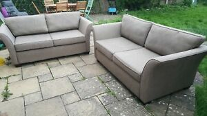 Immaculate 2 X 2 Seater Sofas Purchased from Furniture Village For Holiday Home