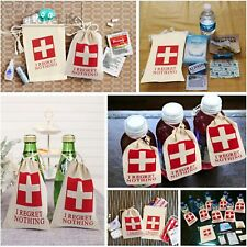12pcs Hangover Kit Bags I Regret Nothing Recovery Favour Gifts Wedding Hens Part