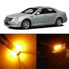 Alla Lighting Front Signal Light 3757AK 3157 Amber LED Bulb for Cadillac STS XLR