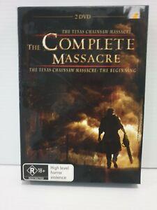 The Texas Chainsaw Massacre - Complete Massacre. Movies. DVD. Region 4.