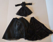 Three skirts, a dress and lots of black for Evangeline Ghastly