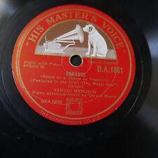 78rpm FRITZ KREISLER the magic bow - minuet in D / romance DA 1861