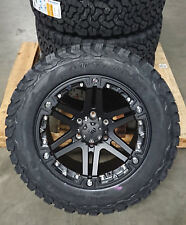 Tuff T01 9x18 6x139,7 Felgen + Reifen BF Goodrich KO2 T/A 265/60/18 Ford Ranger