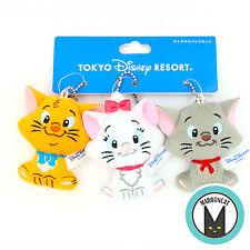 Rare Japan Tokyo Disney Resort Aristocats Marie Berloiz Toulouse Plush Cat Charm