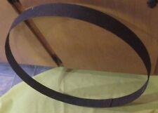 Whiskey Barrel Hoop Band Ring Patina- Repurpose