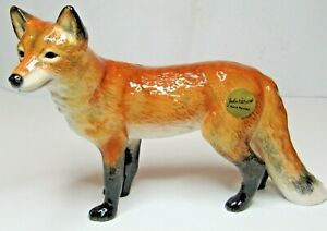 JOHN BESWICK Ceramic Wildlife Animals  - New for 2019  - FOX STANDING