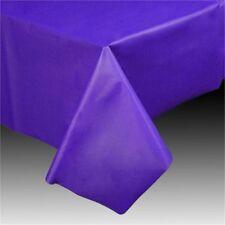 Amscan Large 137cm X 274cm Purple Plastic Rectangle Table Cover