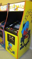 Arcade Machine,-Coin Operated,-Amusement,- Bally Midway,-,Pacman-,New Cabinet