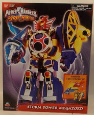 Power Rangers Ninja Storm Storm Power Megazord by Bandai 3 Zords Combine (MISB)