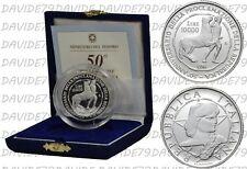 ITALIA - 10000 LIRE D'ARGENTO 1996 - 50° PROCLAMAZIONE REPUBBLICA - PROOF