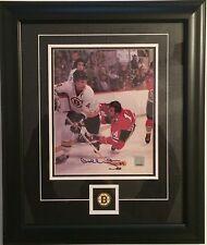BOBBY ORR Boston Bruins Signed/Autographed 8 X 10 Photo FRAMED - GNR COA