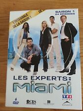 Coffret DVD Les experts Miami Saison 1