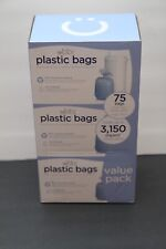 Ubbi Diaper Pail Plastic Bags, 75 -Value Pack