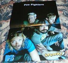 Estonian Spunk! Foo Fighters Centerfold Poster