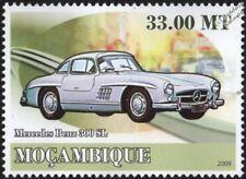 MERCEDES BENZ 300SL Sports Car Mint Automobile Stamp