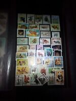 Tiere Lot Briefmarken Stamps Sellos Timbres